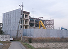 古河市S造4F建解体風景